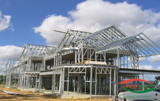 Kết cấu thép công trình xây dựng Teconvina