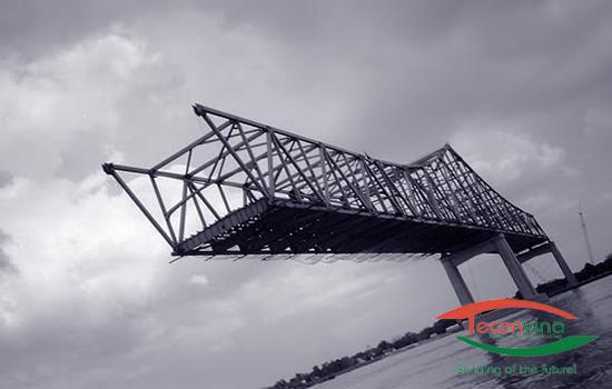 Lắp dựng cầu thép - Teconvina