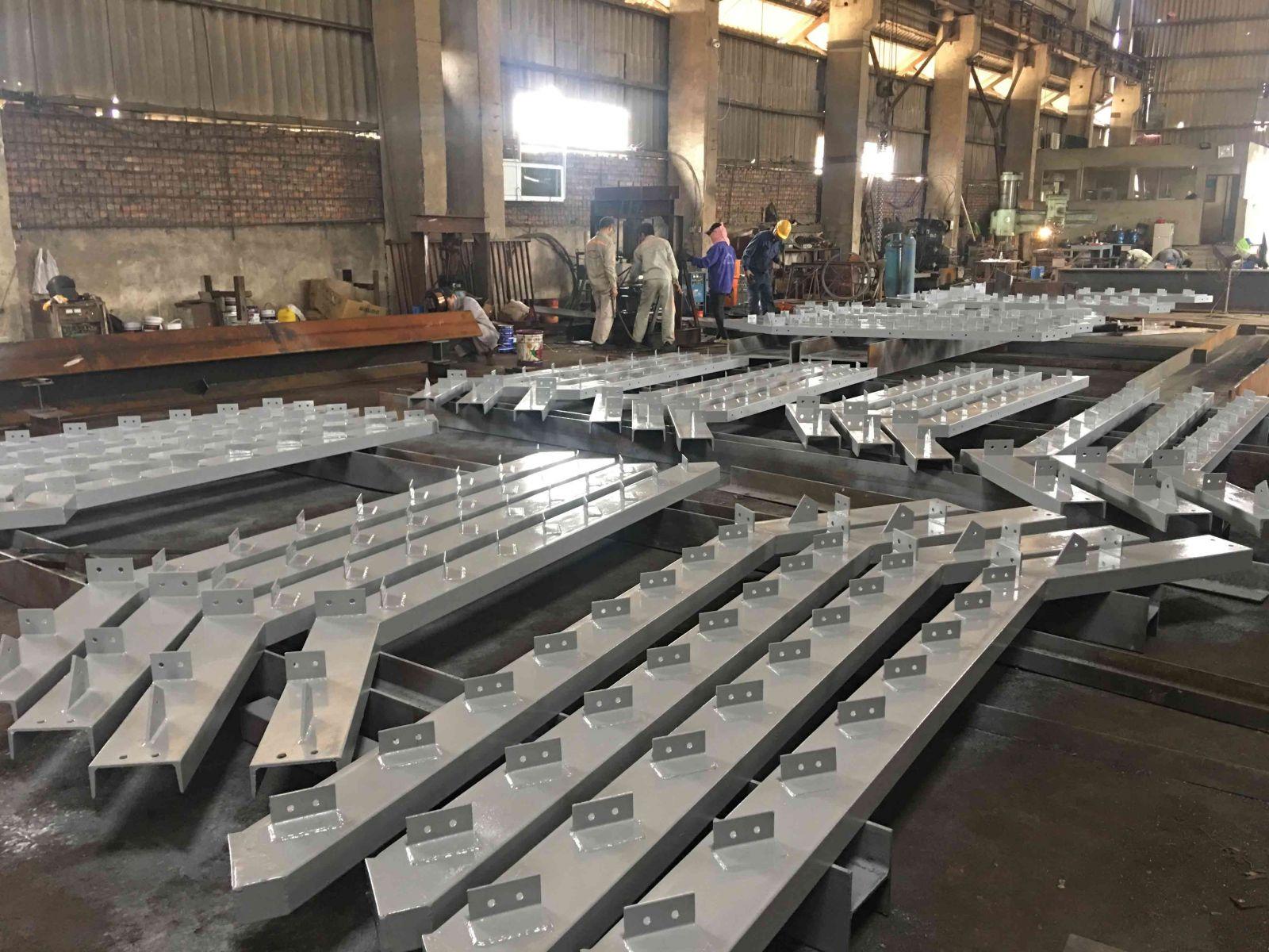 Xưởng sản xuất kết cấu thép TECONVINA