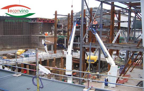 Thi công xây dựng nhà khung thép - Teconvina